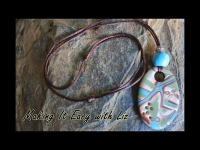 ADJUSTABLE Slide Knot Necklace~Easy Peasy
