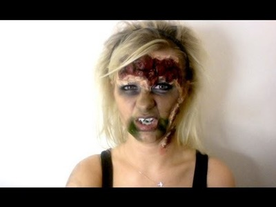 Alice In Zombieland - Alice Halloween Makeup Tutorial