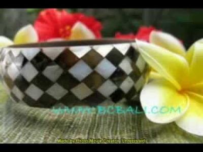 Bangle seashells pearls jewelers handmade production