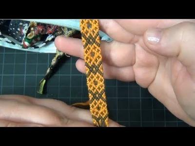■ BeyondBracelets - Some Unfinished Bracelets. Insomnia. Lots Of Talking. Random Bracelet Stuff
