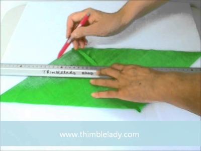 Biased tape, how to make
