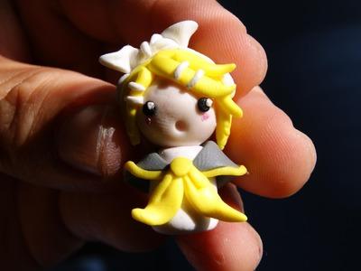 Chibi Kagamine Rin: Polymer Clay
