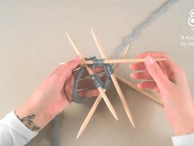CO Double Pointed Needles. Lägg upp på strumpsticka