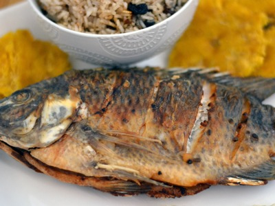 Colombian Fried Whole Fish Recipe - How To Make Colombian Fried Fish - Sweet y Salado