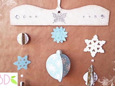 Decori pendenti natalizi - Pendant Christmas ornaments ft. DaWanda
