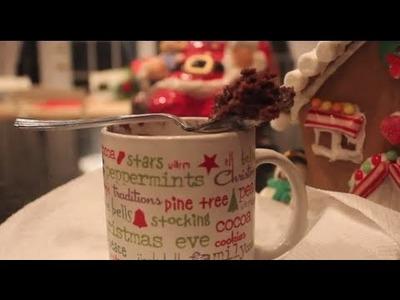 DIY ❄ Brownie In A Mug