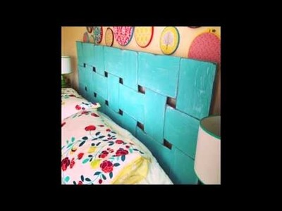 DIY Headboards - 10 cool diy headboard ideas
