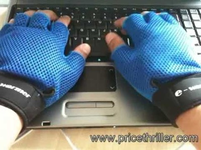 E-Warmer PC Laptop USB Hand Gloves www.pricethriller.com
