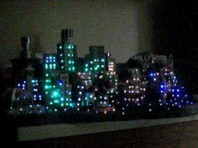 Fiber Optic Fish Tank City