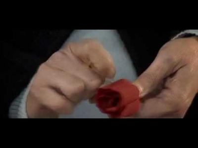 Fiori di carta crespa - Crepe paper flowers: Rosa. Rose by Cartotecnica Rossi