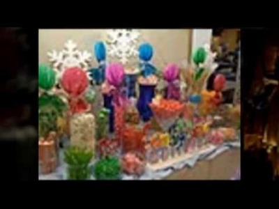 Girl Scouts Orange County-Snowflake Ball- Winter Wonderland & Candyland & Colorful Candy Buffet Bar