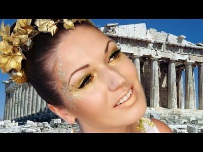 Greek Goddess Halloween Look: Makeup, Hair & Costume