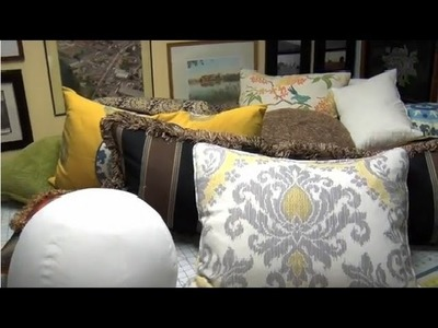 Home Décor: Choosing Pillows for Living Room