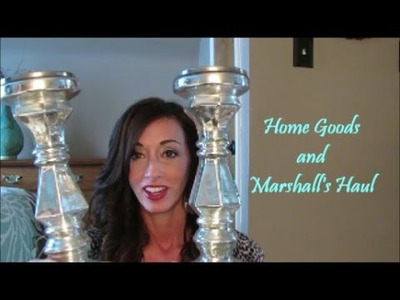 Home Goods and Marshall's Haul | New Home Decor