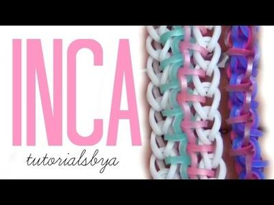 HOOK ONLY Inca Rainbow Loom Bracelet Tutorial | New Loomless How To