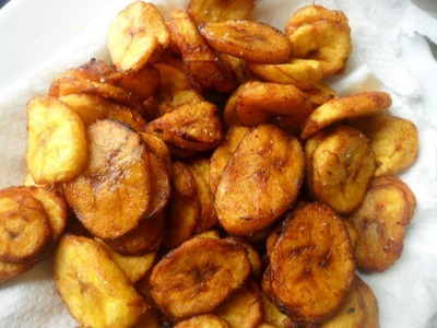 How Do You Make Fried Ripe Plantains Chips?