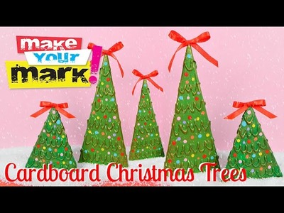 How to: Cardboard Christmas Trees