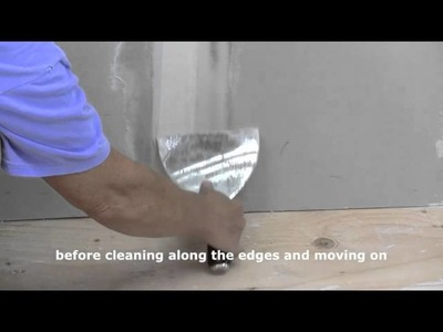 How to Finish Recessed Drywall Joints