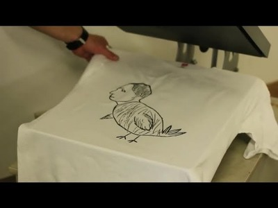 How to Get a Drawing on Paper Printed Onto a T-Shirt : T-Shirt Design Tips