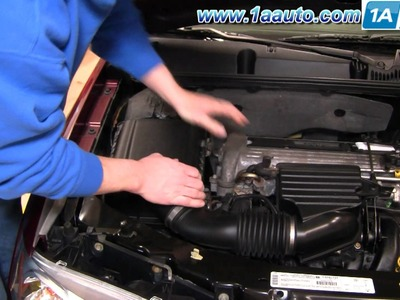 How To Install Replace Service Engine Air Filter Saturn Ion 03-07 1AAuto.com