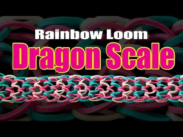 How to make a Dragon Scale Bracelet (Original Dragon Scale Designed by Cheryl Mayberry)