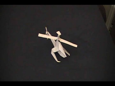 How to make a Helicopter out of paper