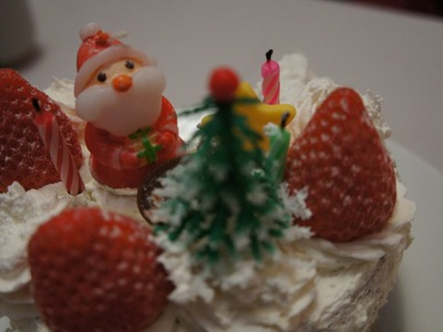 How to Make a Japanese Christmas Cake