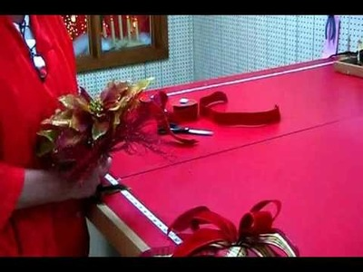 How to Make a Poinsettia Unit to Decorate Your Christmas Tree
