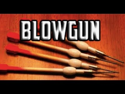 How to Make a Powerful Blowgun