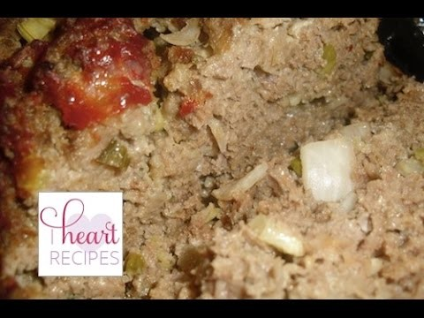 How To Make Home Style Meatloaf - I Heart Recipes