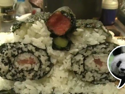 How to make Panda Sushi Roll