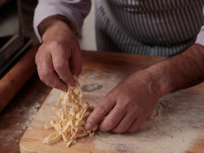 How to make Tagliatelle Pasta