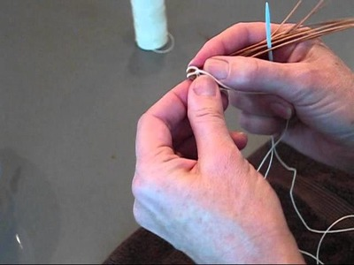 How to Make the Base of Pine Needle Basket