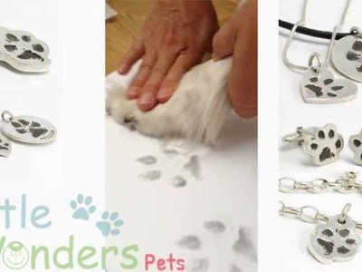 How to take a cat or dog paw print - littlewonderspets.no