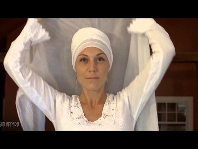 How to Tie a Women's House Turban