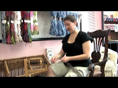 How To Use A Spinning Wheel To Spin Wool Into Yarn