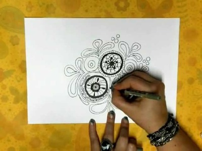 * HowTo: Doodles - Circles & Paislee Patterns *