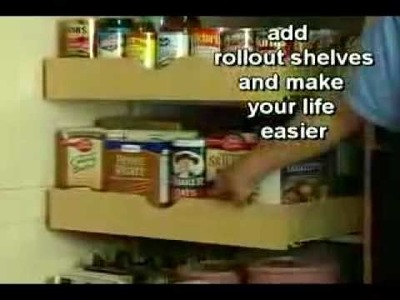 Ideas For Decorating Toledo OH: Pull Out Storage Shelves | 419-381-2700