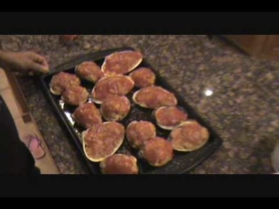 ITALIAN BAKED STUFFED CLAMS - EASTER - CHRISTMAS - THANKSGIVING - HOLIDAY