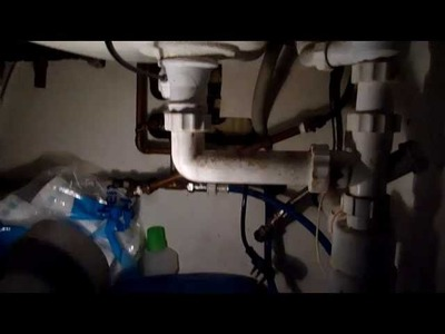 Kitchen Tap Replacement, How to , Diy  Part  1