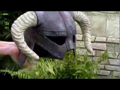 Making of the Skyrim Iron Helmet
