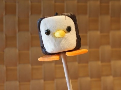 Marshmallow Penguin Pop or Decoration by SparkedIdeas