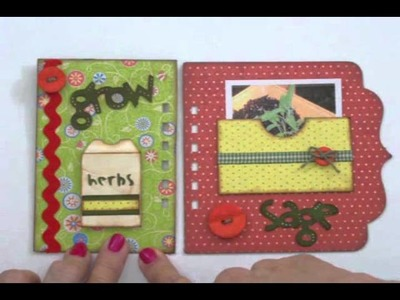 My Herb Garden Mini Album Part 5