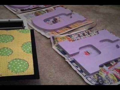 Nursery Block Letters Project