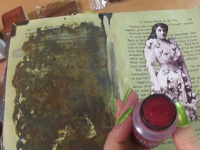Other Sounds #3- asmr. relaxation- The One Woman, silently collaging a page