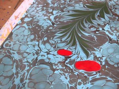 Painting On Water: Turkish Marbling AKA Ebru In Istanbul