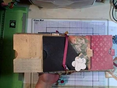 Paper Bag Mini Album Planner Part 1 of 2