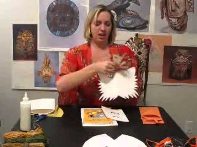 Paper mask making.wmv