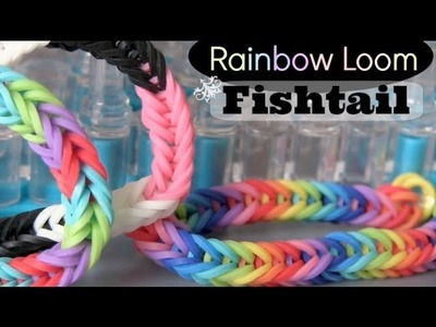 Rainbow Loom : Fishtail Bracelet - How To