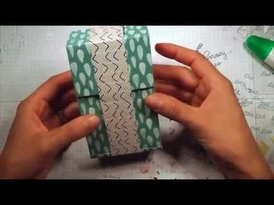 Scrappy Wednesday: Toilet Paper Roll Mini Album